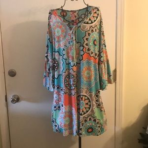 Boutique Curvy plus size Tunic